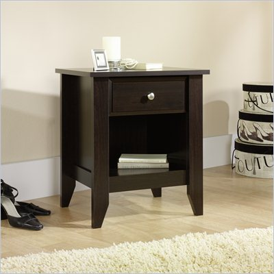 Sauder Shoal Creek Night Stand in Jamocha Wood