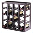 ADD TO YOUR SET: Winsome Kingston Modular and Stackable 16 Bottle Wine Cubby in Espresso