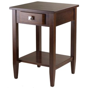 Winsome Richmond End Table in Antique Walnut