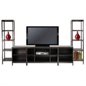 Winsome Hailey 5-Piece Entertainment Set in Espresso