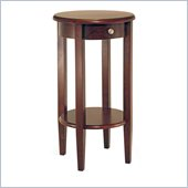 Winsome Concord Round Tall End Table