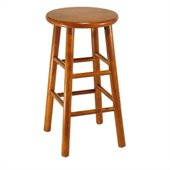 Winsome 24 Counter Height Bar Stools (Set of 2)