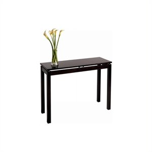 Winsome Linea Solid Wood Console/Sofa Table in Espresso