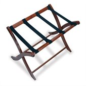 Winsome Luggage Rack in Antique Walnut