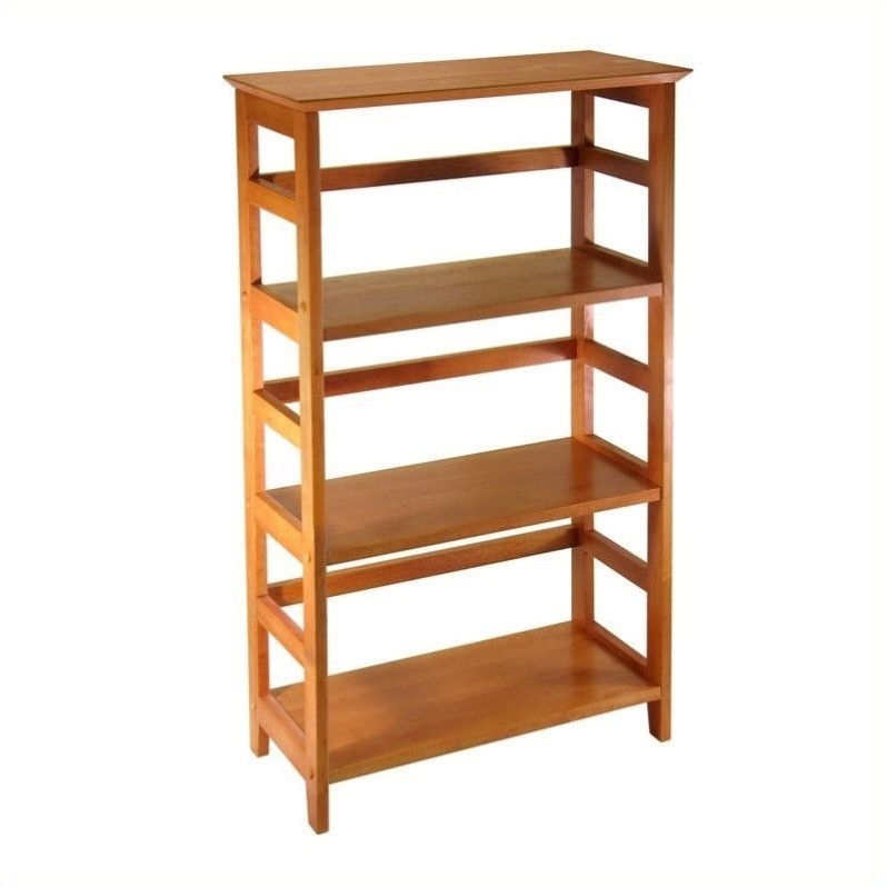 Studio 3-Tier Bookshelf in Honey