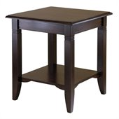Winsome Nolan End Table in Cappuccino Finish