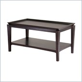 Winsome Finley Coffee Table in Dark Espresso Finish