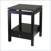Winsome Linea Nightstand in Dark Espresso Finish