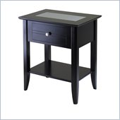 Winsome Syrah Nightstand in Espresso Finish