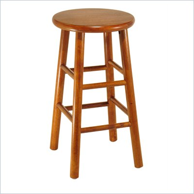 Winsome 24&quot; Counter Height Bar Stools (Set of 2)