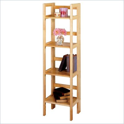 Winsome 4-Tier Foldable Shelf in Natural