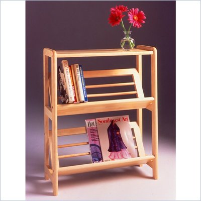 Winsome 2-Tier Bookshelf in Natural