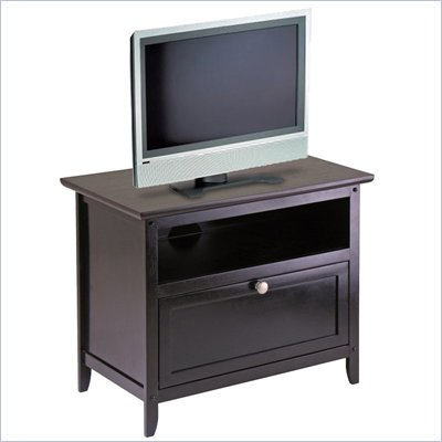 Winsome Zara TV Stand in Espresso