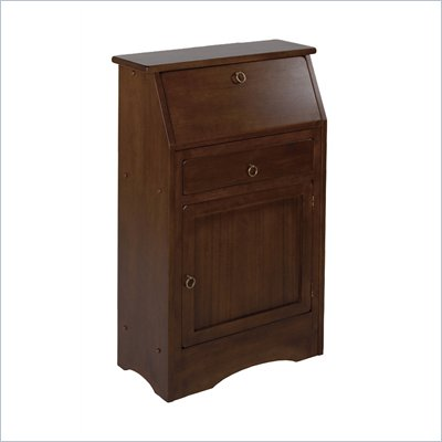 Winsome 94339 Regalia Secretary Desk in Anitque Walnut