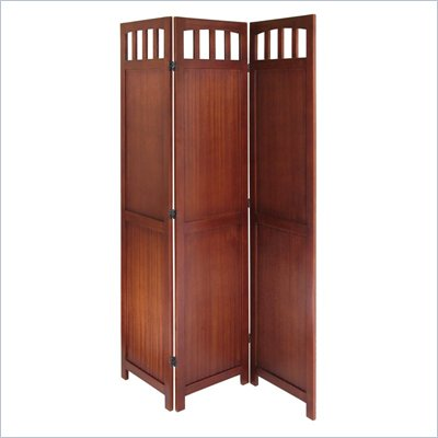 Winsome Folding Screen in Antique Walnut