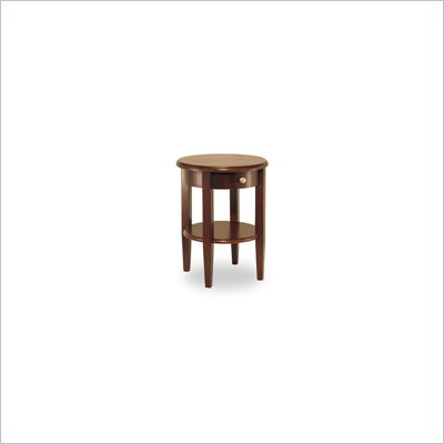 Winsome Concord Wood Round End Table