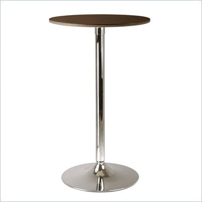 "Winsome Kallie 24"" Round Pub Table in Cappuccino"