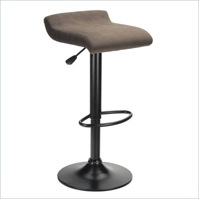 Winsome Marni Air Lift Stool in Black Finish