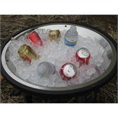 Outdoor GreatRoom Company Ice Bowl for Center of Chat Fire Pit Tables