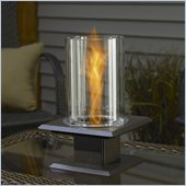 Outdoor GreatRoom Company Allure Table Top Gel Fuel Metal Firepit in Sedona