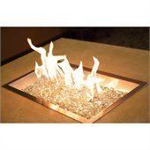 12 x 24 Rectangular Crystal Fire Pit Burner