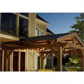Optional Metal Roof for Lodge II Pergola