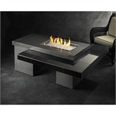 Uptown Fire Pit Table with Granite Tile and Supercast Top