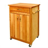 Catskill Craftsmen 25 Inch Butcher Block Kitchen Cart
