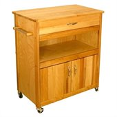 Catskill Craftsmen Wide Cuisine Kitchen Cart