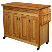 Catskill Craftsmen 44 Inch Butcher Block Kitchen Island
