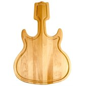 Catskill Craftsmen Guitar Shaped Hardwood Cutting Board