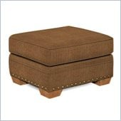 Broyhill Cambridge Ottoman with Attic Heirlooms Wood Stain