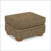 Broyhill Edward Ottoman with Attic Heirlooms Wood Stain