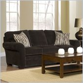 Broyhill Zachary Dark Brown Sofa with Affinity Wood Finish