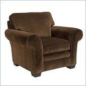 Broyhill Dark Brown Zachary Chair with Affinity Wood Finish