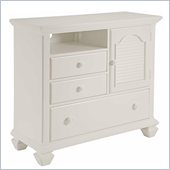 Broyhill Mirren Harbor Media Chest in White