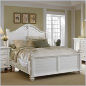 Broyhill Mirren Harbor Poster Storage King Size Bed in White