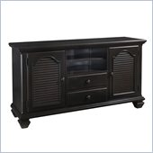 Broyhill Mirren Pointe Media Chest in Chocolate Brown