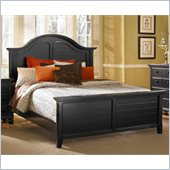 Broyhill Mirren Pointe Arched Panel Bed in Chocolate
