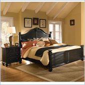 Broyhill Mirren Pointe Arched Panel Bed 2 Pc Bedroom Set in Chocolate