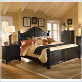 Broyhill Mirren Pointe Arched Panel Bed 3 Pc Bedroom Set in Chocolate