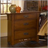 Broyhill Artisan Ridge Night Stand in Warm Nutmeg