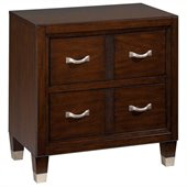 Broyhill Eastlake 2 Night Stand in Warm Brown Cherry