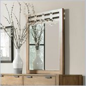 Broyhill Ember Grove Slat Dresser Mirror in Weathered-Khaki