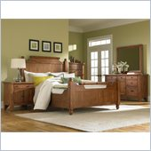 Broyhill Attic Heirlooms Feather Bed 5 Piece Bedroom Set