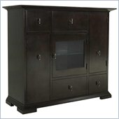 Broyhill Perspectives Media Chest in Graphite Finish