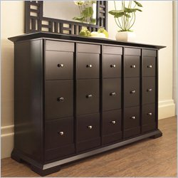 Broyhill Perspectives 9 Drawer Dresser in Graphite Finish