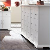 Broyhill Perspectives Artic White 9 Drawer Dresser