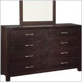 Broyhill Primo Vista 8 Drawer Dresser in Black Stain