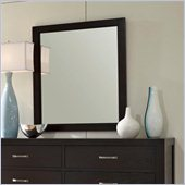 Broyhill Primo Vista Dresser Mirror in Black Stain